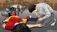 Korban Kecelakaan 70-75% Pengendara Motor