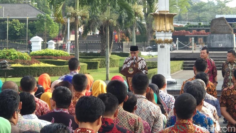 Pimpin Apel Perdana, Iriawan Paparkan Tugasnya Pada Ribuan PNS