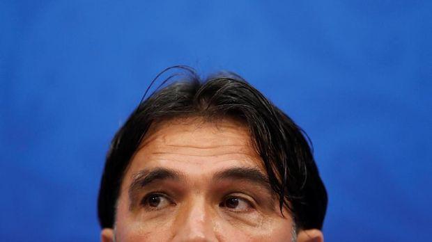 Pelatih timnas Zlatco Dalic.