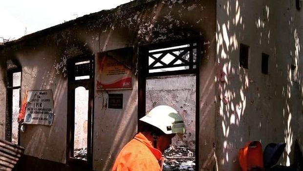 Rumah di Gandaria yang Terbakar PAUD Diduga Akibat Gas Bocor