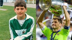Iker Casillas sering dielukan menjadi salah satu kiper terbaik yang pernah ada. Selain itu, postur tubuhnya juga terbilang bagus dan proposional.