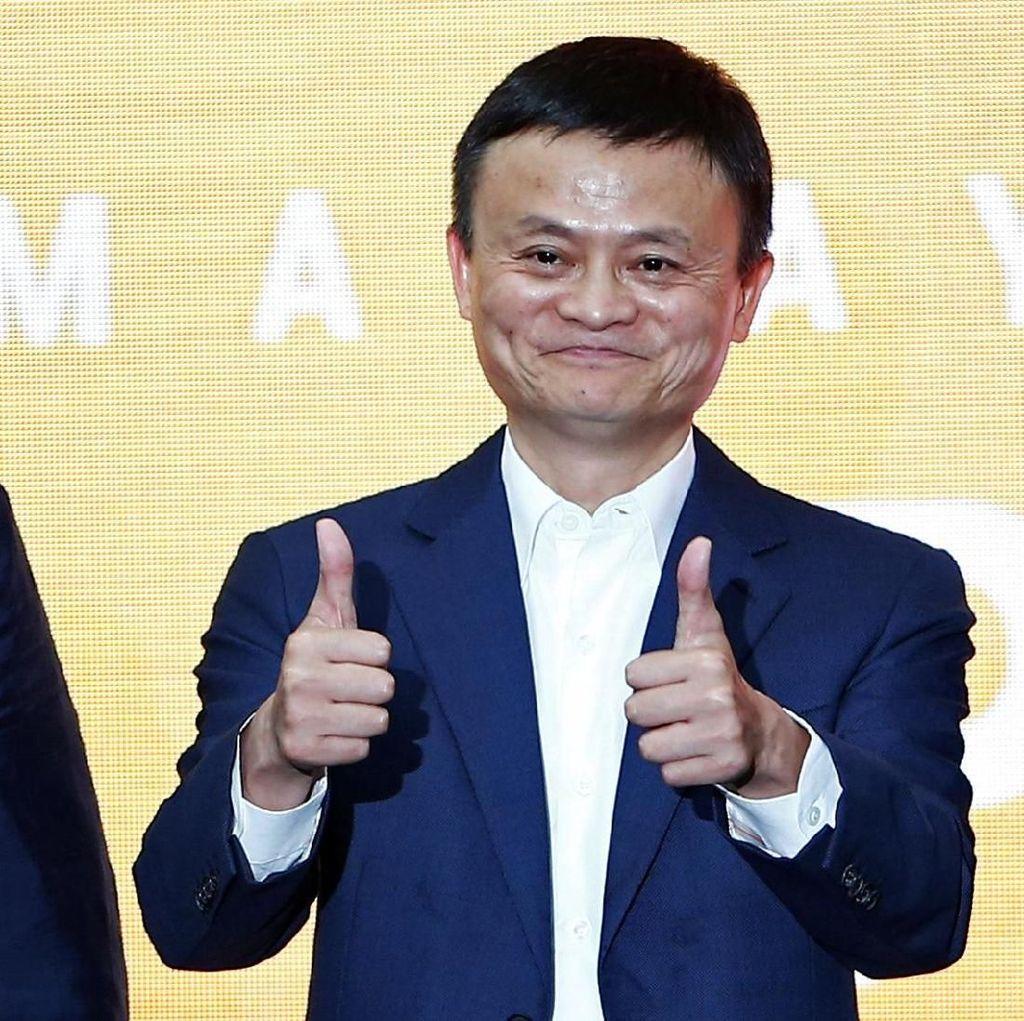 Jack Ma Lepas Gelar Orang Terkaya di Asia ke Mukesh Ambani