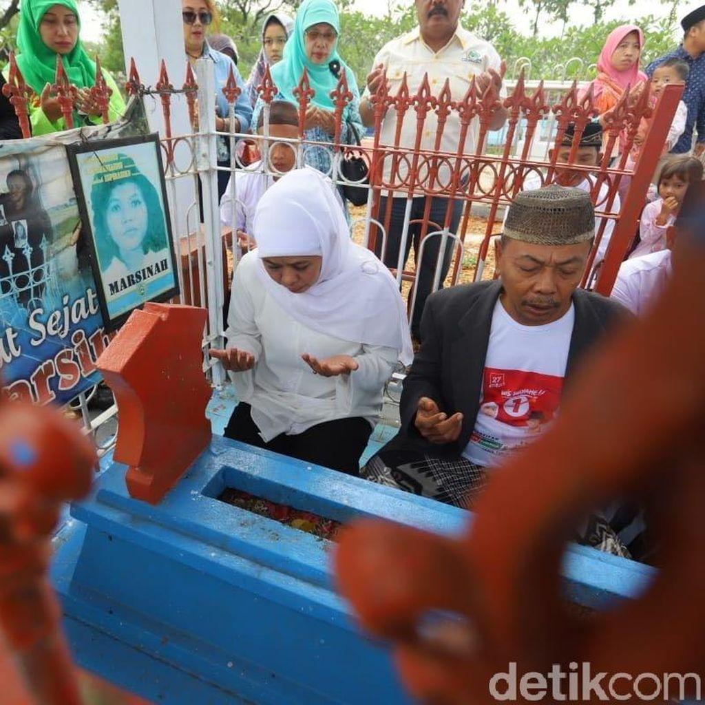 Khofifah Usulkan Marsinah Jadi Pahlawan Buruh Nasional