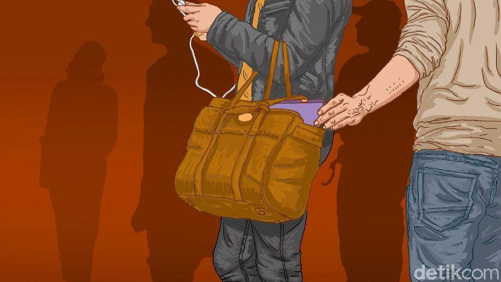 Pencopet di KRL Diamankan, Awalnya Diduga Lakukan Pelecehan Seksual