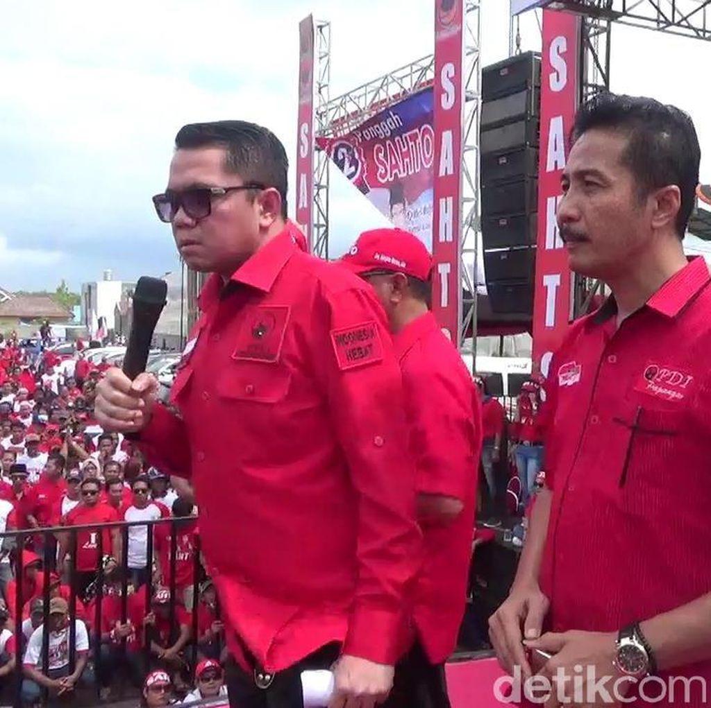 Cabup Ditahan KPK, PDIP Gelar Kampanye Akbar di Tulungagung
