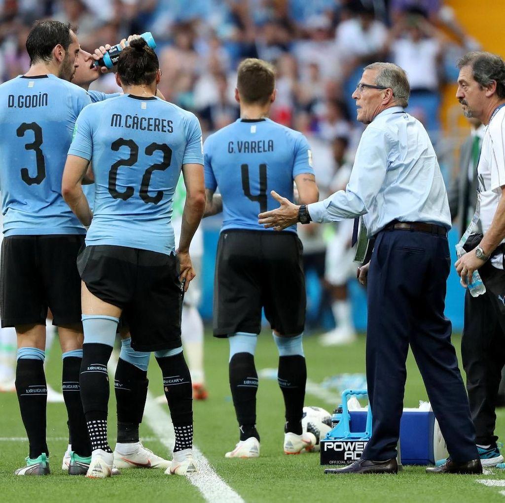 Tabarez Akui Uruguay Tidak Enak Ditonton