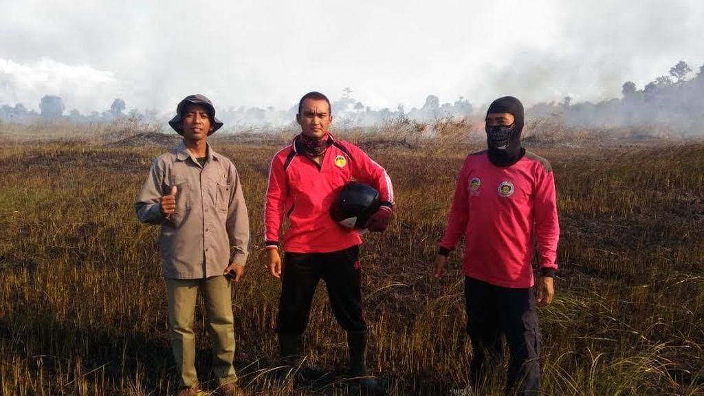 KLHK Ajak Warga Cegah Kebakaran Hutan di TN Rawa Aopa Watumohai