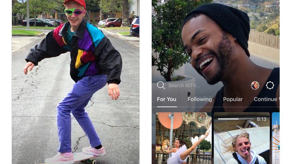 Berbagi Video IGTV Bisa ke Stories Instagram