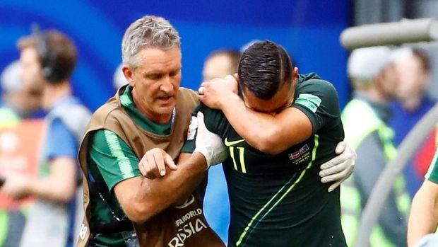 Australia gagal ke 16 besar Piala Dunia 2018 jika Denmark bermain imbang lawan Prancis. (