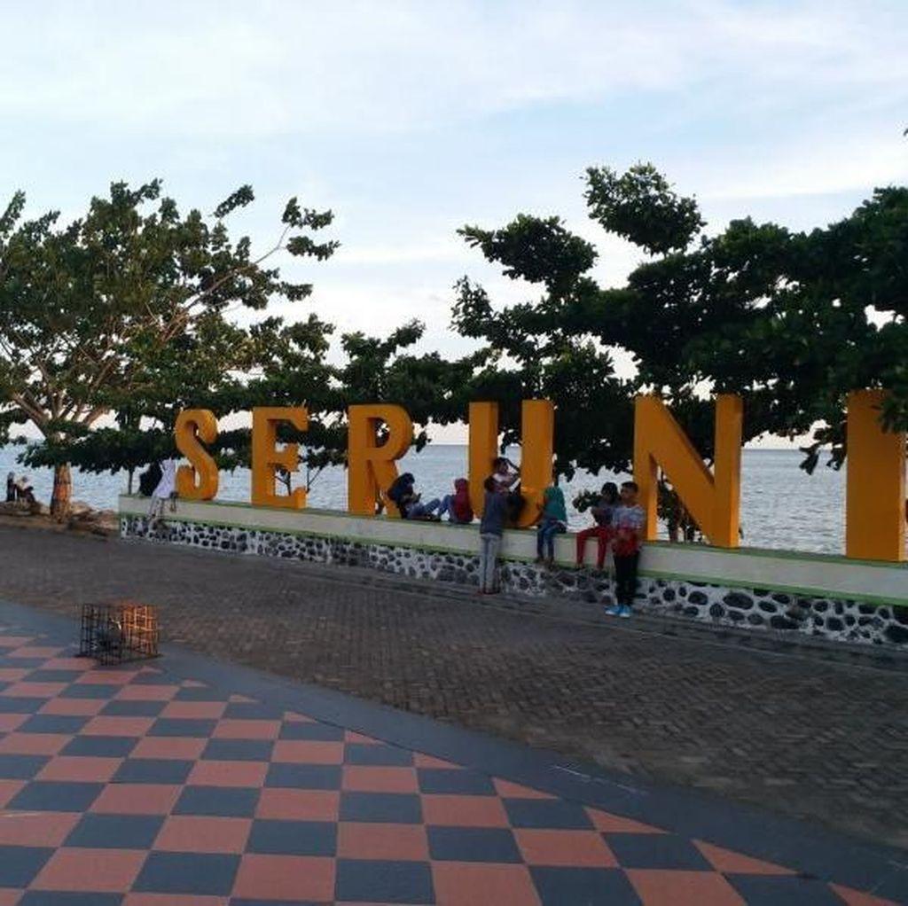 Menanti Senja nan Syahdu di Pantai Seruni Bantaeng