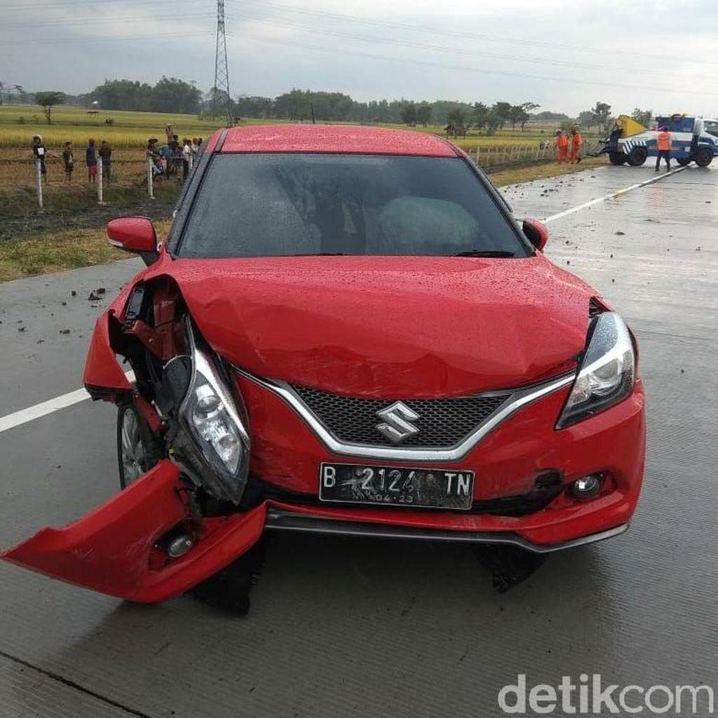 Mobil Bernopol Palsu Celaka di Tol Wilangan, Polisi: Diduga Masih Baru