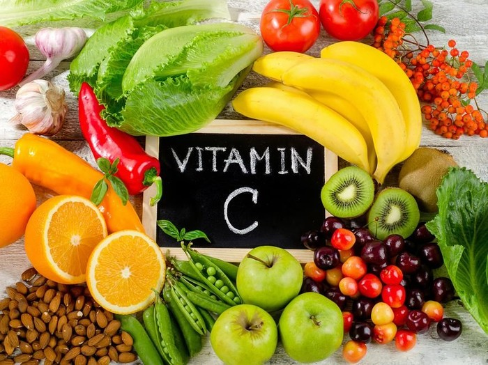 7 Manfaat Vitamin C untuk Kesehatan Tubuh dan Kulit Foto: shutterstock
