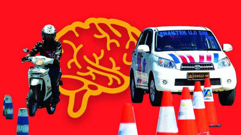 Ilustrasi tes psikologi untuk SIM (Foto: Kiagoos Auliansyah)