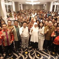 Loyalis Jokowi Bara JP dan RKIH Solidkan Menangkan Khofifah-Emil