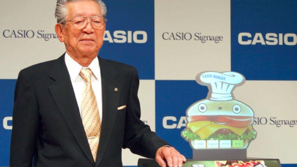Pendiri Casio Meninggal Dunia