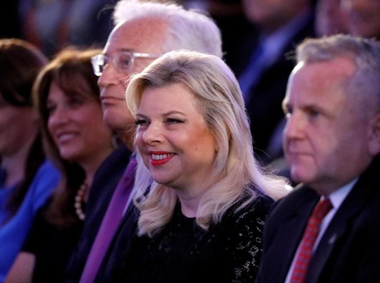 Istri Netanyahu Didakwa Penipuan Terkait Katering Rumah Dinas