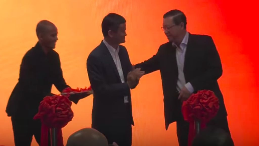 Kegembiraan Jack Ma Resmikan Kantor Alibaba di Malaysia
