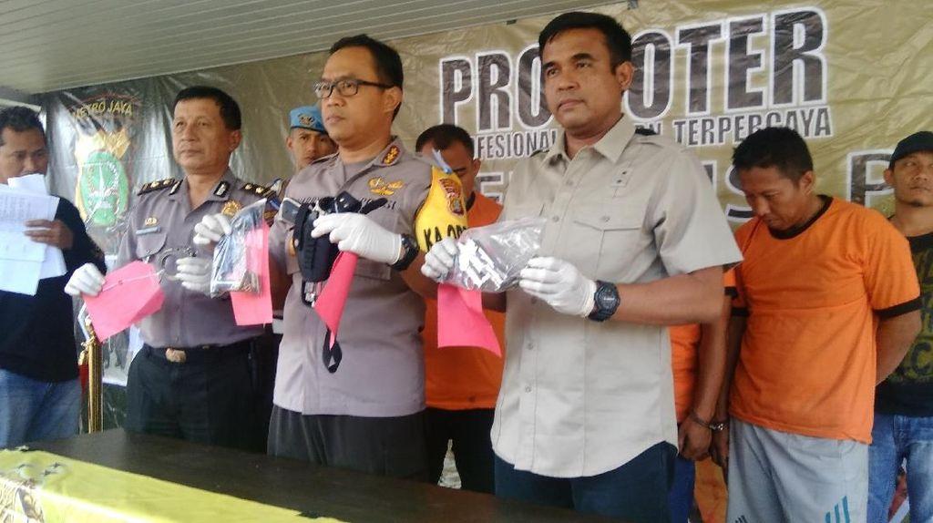 4 Polisi Gadungan yang Peras Warga di Tangerang Ditangkap