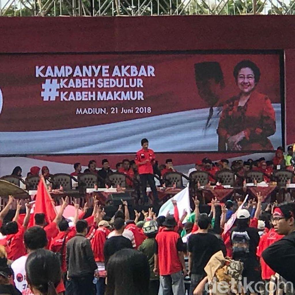 Kampanye di Madiun, Wasakjen PDIP: Mantapkan Gus Ipul-Puti
