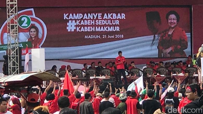 Kampanye di Madiun, Wasekjen PDIP: Gus Ipul-Puti Pilihan Rakyat