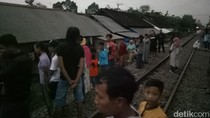 Terpeleset, Ibu dan Anak Tertabrak Kereta Api di Banyuwangi