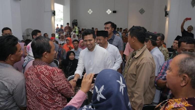 Disebut Lanjutan Pakdhe Karwo, Emil Dardak Didukung Petani Kediri
