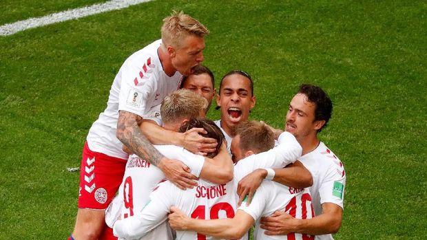 Denmark memiliki peluang melaju ke babak 16 besar Piala Dunia 2018.