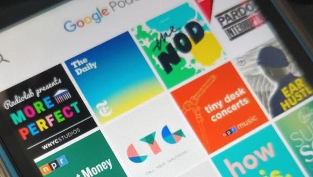 Google Manjakan Pengguna dengan Aplikasi Podcast