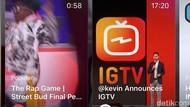 Jarang Digunakan, Instagram Hilangkan Tombol IGTV di Aplikasinya