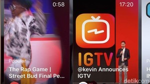 Menjajal IGTV, Stasiun Televisi ala Instagram