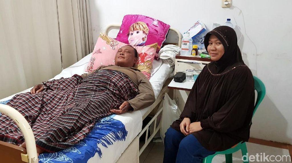 Terbaring Sakit, Serma Asep Bekuk Pengutil di RSUD Syamsudin