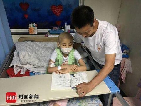 Guo Anchuan pakai gaun pengantin demi biaya medis putrinya