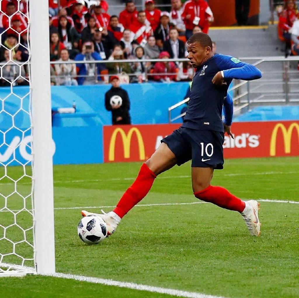 Ini Gol Mbappe yang Loloskan Prancis ke 16 Besar