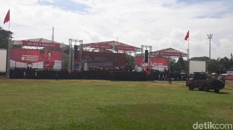 Megawati dan AHY Datang ke Madiun untuk Kampanye Akbar