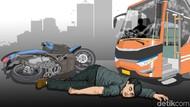 7 dari 10 Keluarga Korban Kecelakaan Jatuh Miskin