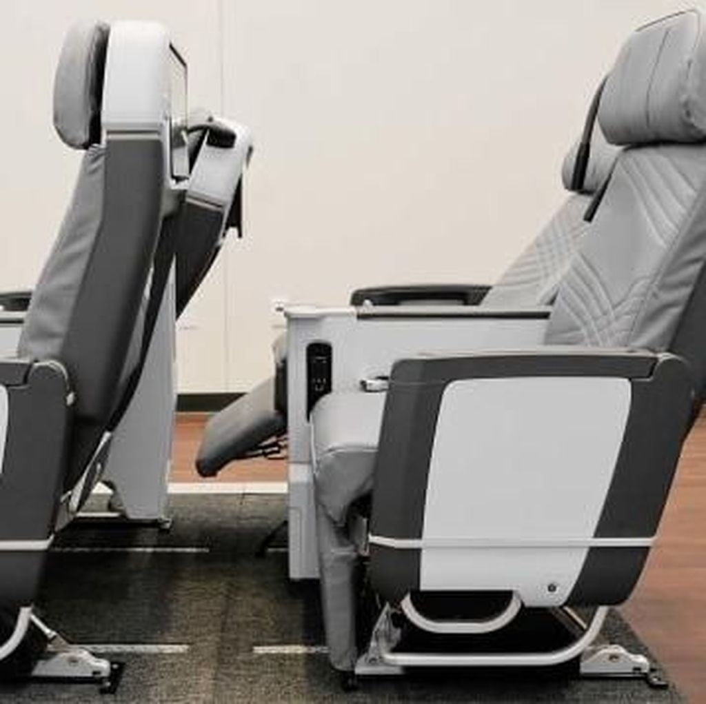 Penampakan Kursi Kelas Ekonomi Penerbangan Terlama di Dunia