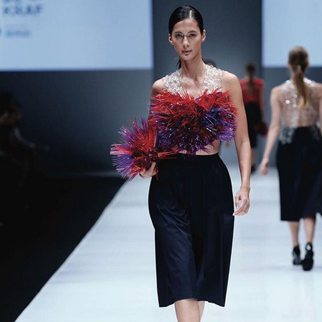 Debut Paula Verhoeven Jadi Host di Fashion and Beauty Trans7