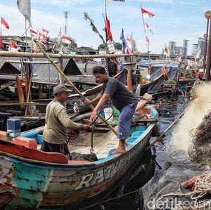 Nadi Kehidupan di Kampung Nelayan Cilincing Kembali Berdenyut