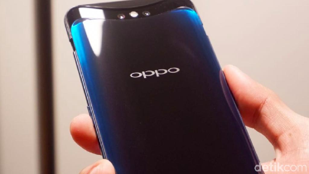 Kencan Singkat dengan Oppo Find X Glacier Blue