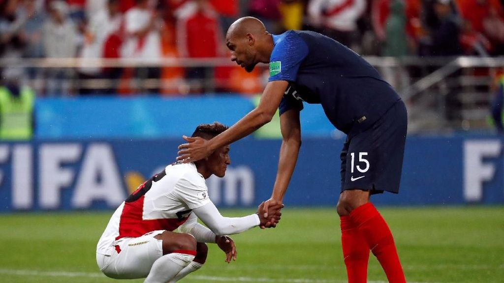 Video Highlights: Prancis Vs Peru 1-0