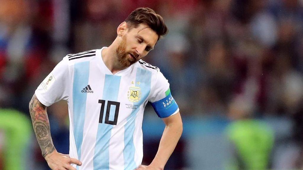 Statistik Messi Melawan Kroasia