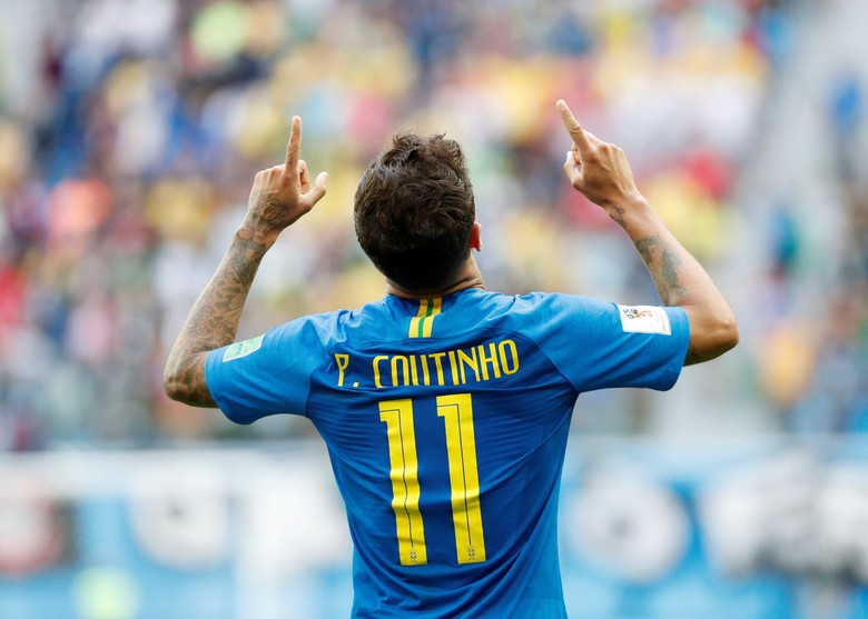 Philippe Coutinho. Foto: Max Rossi/Reuters