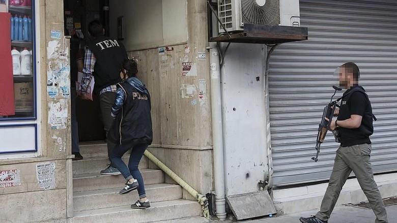 14 Orang Terkait ISIS Ditangkap di Turki Jelang Pemilu