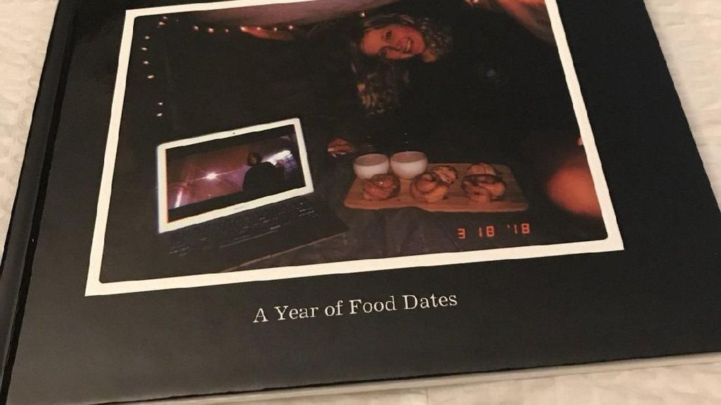 Pria Ini Dokumentasikan Setiap Makanan yang Dimakan Kekasihnya Selama Setahun