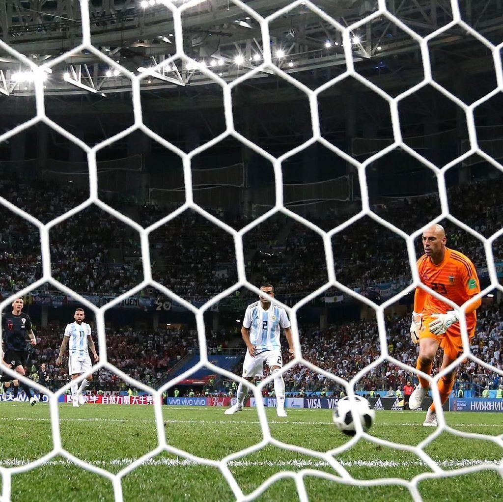 Statistik-Statistik Buruk Argentina Usai Dihajar Kroasia