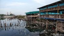 Pantai Marunda Kini Penuh dengan Sampah