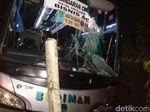 4 Orang Sekeluarga Pejalan Kaki Tewas Dihantam Bus di Ciamis