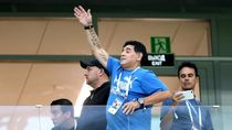 Maradona Ingin Beri Wejangan untuk Messi dkk Sebelum Hadapi Nigeria