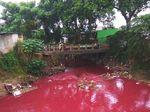 Viral Kali di Bekasi Berwarna Merah Darah, Begini Cerita di Baliknya