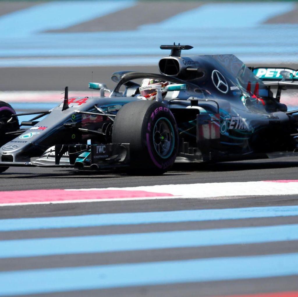 Lewis Hamilton Kuasai Latihan Pertama GP Prancis